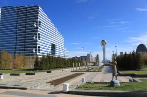 Казахстан Астана. Марина Шамина