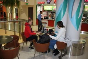 ТЦ Керуен город Астана Марина Шамина и Мила Деменкова
